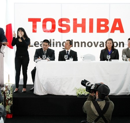 Press event: Toshiba opens headquarters in C. America